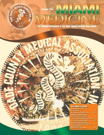 October 2011 The Official Publication of the Dade County Medical ...