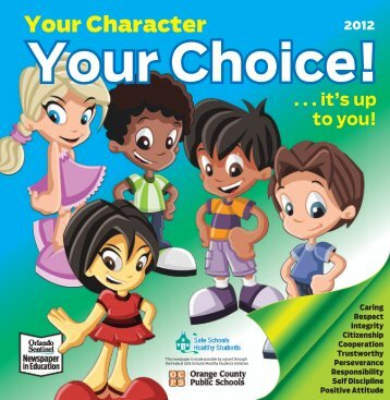 Your Character Your Choice!