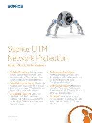 Sophos UTM Network Protection