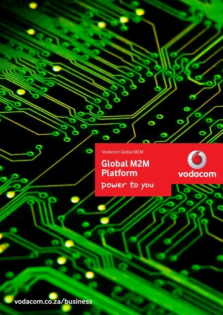 Global M2M Platform - Vodacom