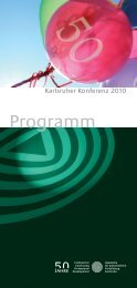 Programm - Akademie für Zahnärztliche Fortbildung Karlsruhe