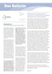 Das Bulletin Das Bulletin - AVES