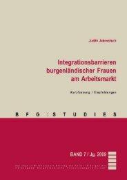Integrationsbarrieren burgenländischer Frauen am ... - Burgenland.at