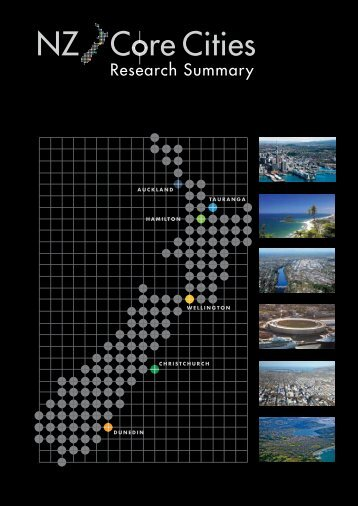 NZ Core Cities: Research Summary - Ateed