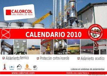 calendario 2010 - Calorcol