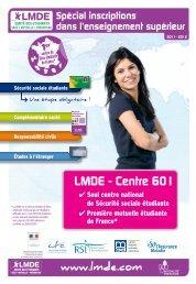 Avec la LMDE - Faculté des Sciences et Techniques