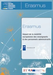 Erasmus - Agence Europe-Education-Formation France