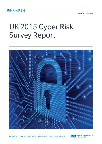 Marsh UK 2015 Cyber Risk Survey Report-06-2015