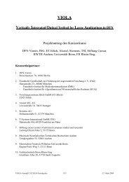 Projektantrag des Konsortiums - DFN-PKI - DFN-Verein