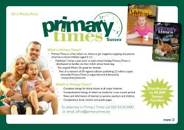Sussex - Primary Times