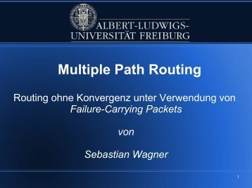 Multiple Path Routing