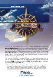 New Matrix Horizons - Matrix Software