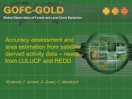 REDD/LULUCF implementation
