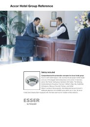 Accor Hotel Group Reference - ESSER by Honeywell