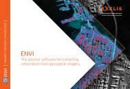 ENVI Literature Pack - Exelis Visual Information Solutions