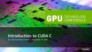 Introduction to CUDA C