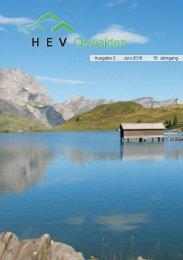 Ausgabe 2 Juni 2010 15. Jahrgang - Hev-ow.ch