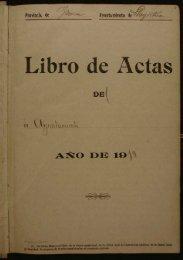 Libro de ctas - Arxiu Municipal de Llagostera