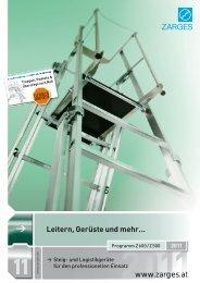 Leitern, Gerüste und mehr… - Zarges