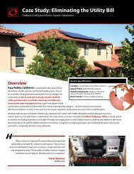 See this case study in PDF - OutBack Power Systems