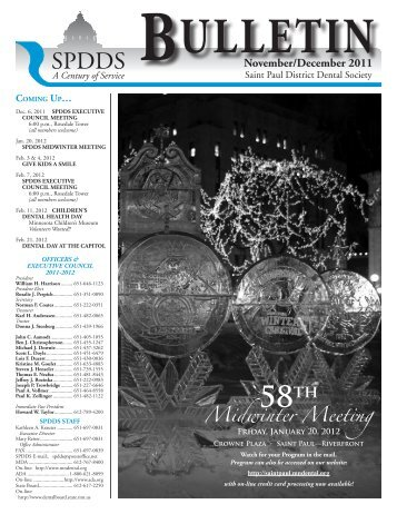 Midwinter Meeting - St. Paul District Dental Society