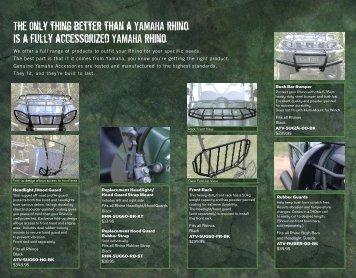 The Only thing better than a YAMAHA rhino - yamaha motor canada