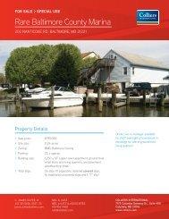 Rare Baltimore County Marina - Hearn Burkley