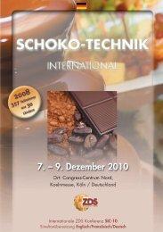 schoko-technik 2010 - Zentralfachschule der Deutschen ...