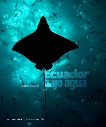 Ecuador bajo el agua - Abordo.com.ec