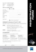 registra tion form - Carl Zeiss - Seite 3