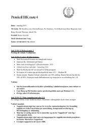 Protokoll styremøte nr.4
