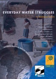 Everyday water struggles in Buenos Aires: The problem ... - WaterAid