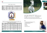 EQUIVET Slipper - Kruuse