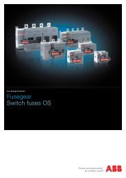 Fusegear Switch fuses OS