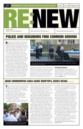 RENEW September 2005 Newsletter - New Communities Program