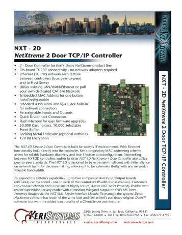 nxt 2d netxtreme 2 door tcp ip controller keri systems?quality\=85 keri nxt 4d wiring diagram,nxt \u2022 indy500 co 4D Diagram Architecture at n-0.co
