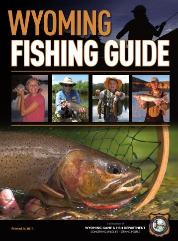 Downloadable Fishing Guide - Wyoming Game & Fish Department
