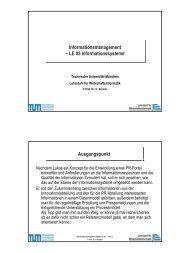 VL_IM_SS07_Folien_LE05.pdf - Lehrstuhl für Wirtschaftsinformatik