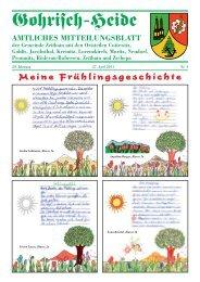 20.Jahrgang - April Nr. 04 - Gemeinde Zeithain