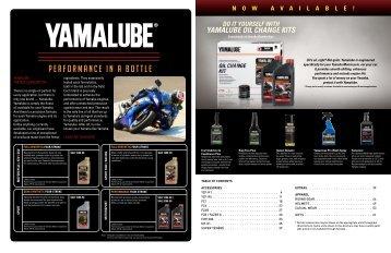YAMALUBE OIL CHANGE KITS - YAMAHA MOTOR CANADA