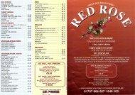 Takeaway & delivery menu - Potters Bar