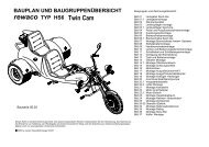 Montagehinweis HS6 03 Seite: 1 - Mikes-Trike-Garage