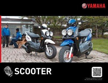 Scooter 2012 - yamaha motor canada