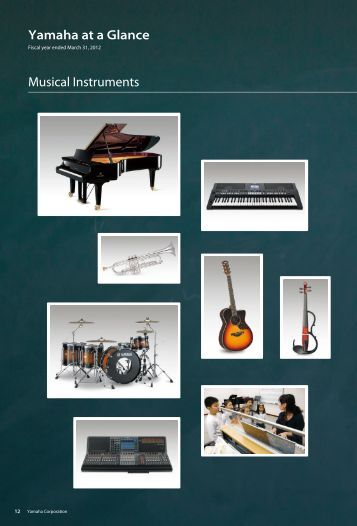 Yamaha at a Glance