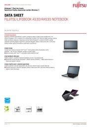 Data Sheet Fujitsu LiFEBOOK A530/AH530 ... - Hosting WEDOS