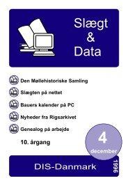 slægt & data 4 1996 - DIS-Danmark
