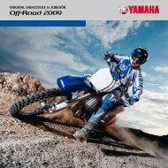 Off-Road 2009 - Yamaha Motor Europe