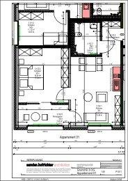 Grundrisse Appartements - Haus St. Josef