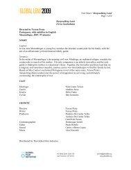 Fact Sheet / Sleepwalking Land Page 1 of 4 Sleepwalking Land ...