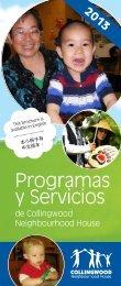 Programas y Servicios - Collingwood Neighbourhood House